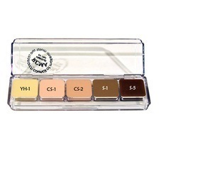 5 delig high light contour palette