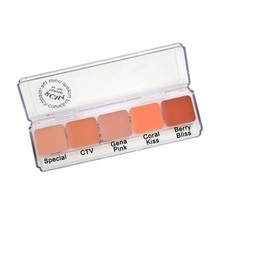 "FOUNDATION-RCMA - 5 delig  ""Cream Blush Palette"""